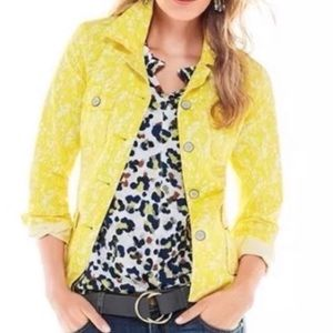 Cabi Field of Daises Jacket Small